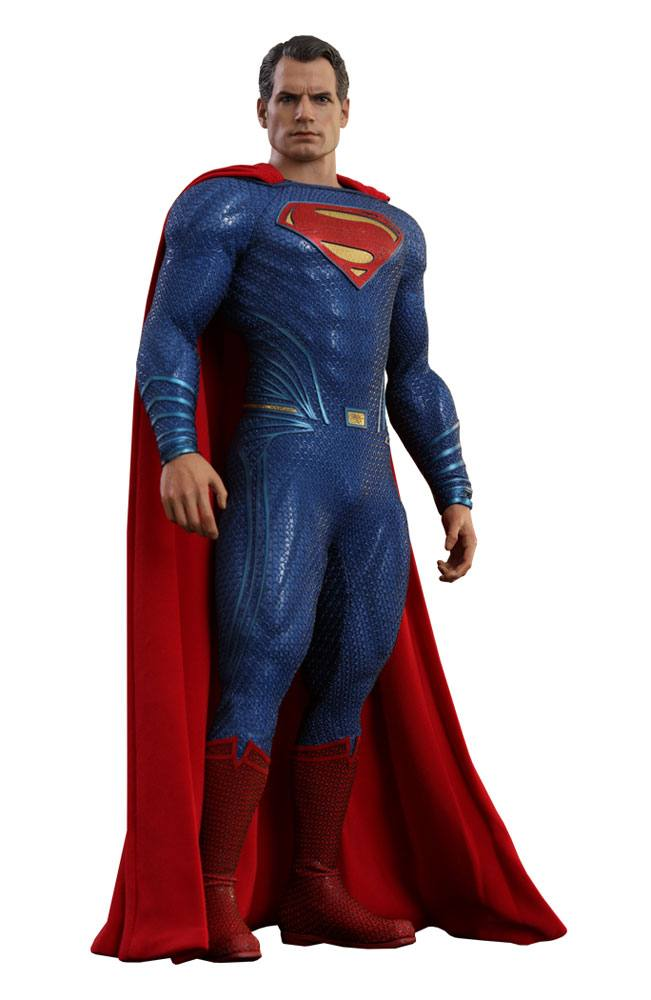 Best Superman Toys And Action Figures For Kids : Hot toys justice league superman action figure movie