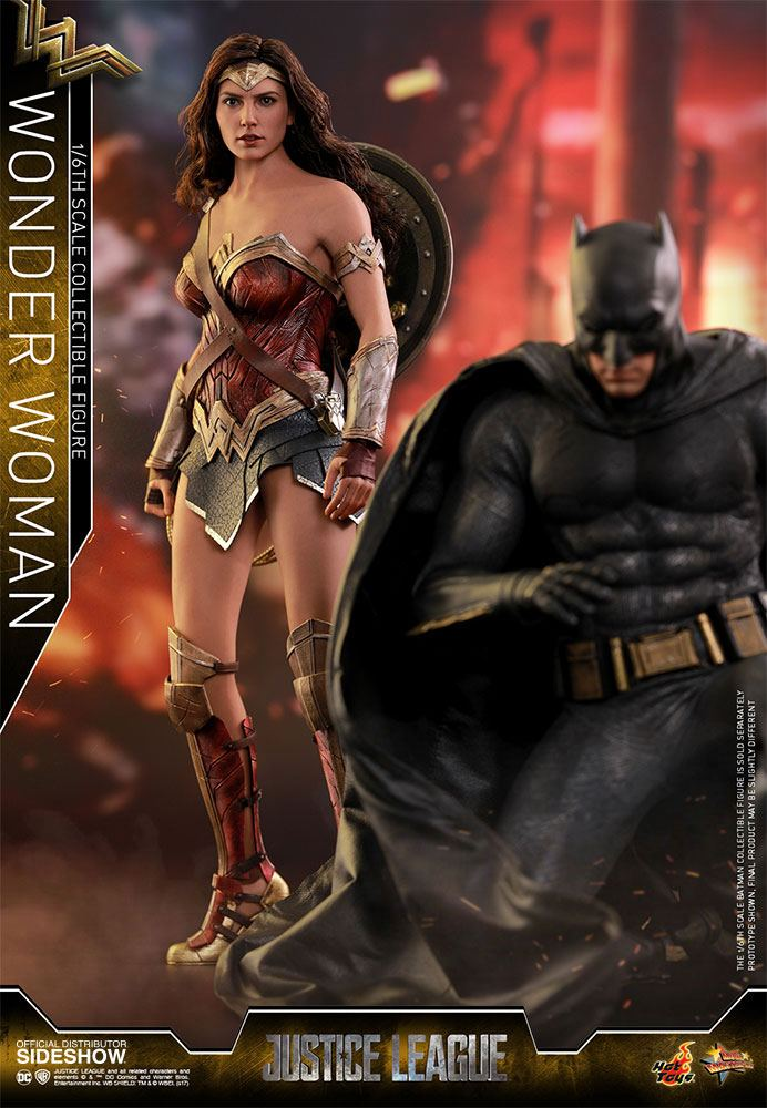 Hot Toys Justice League Wonder Woman 1/6 Action Figure