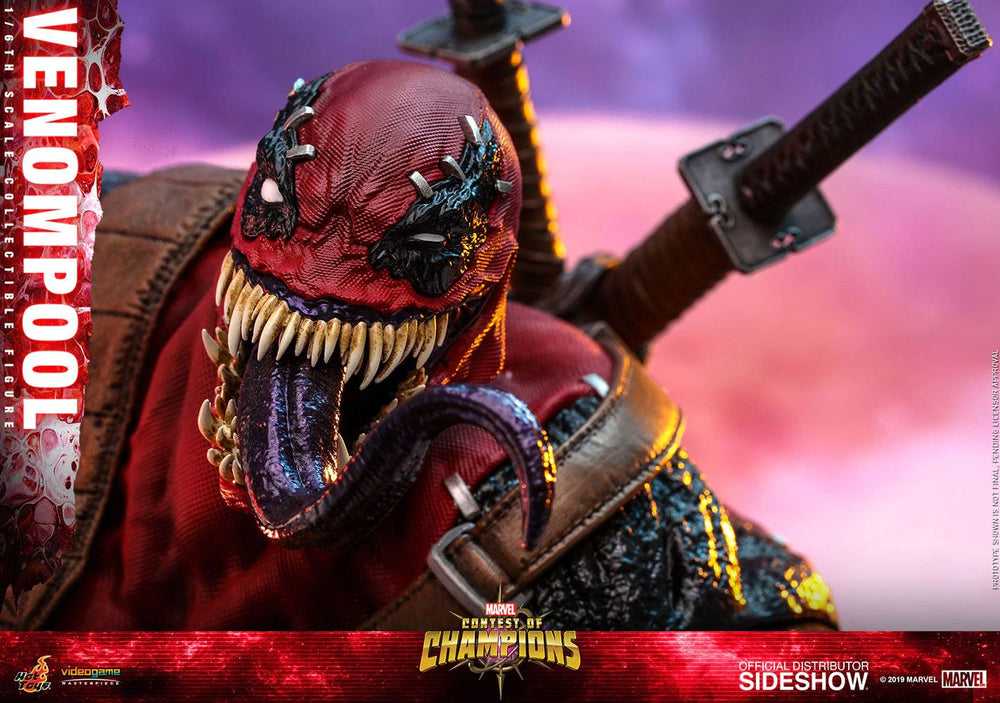 Hot Toys Marvel: Contest of Champions Video Game Venompool 1/6 Action Figure