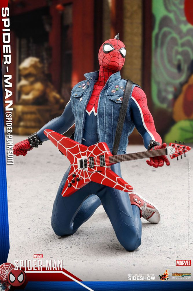 Hot Toys Marvel's Spider-Man Video Game Spider-Punk 1/6 Action Figure