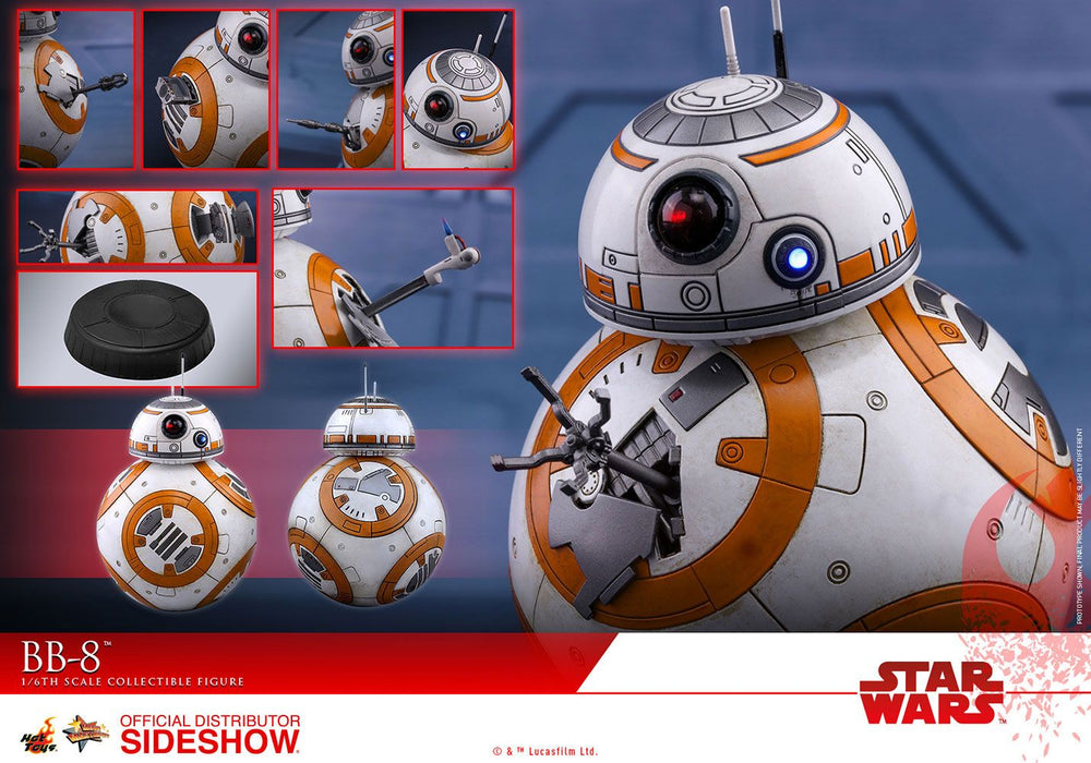 Hot Toys Star Wars Episode VIII BB-8 1/6 Action Figure
