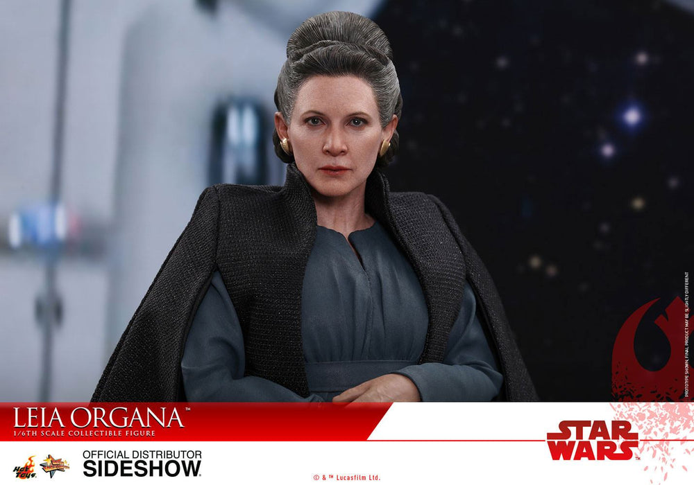 Hot Toys Star Wars Episode VIII Leia Organa 1/6 Action Figure