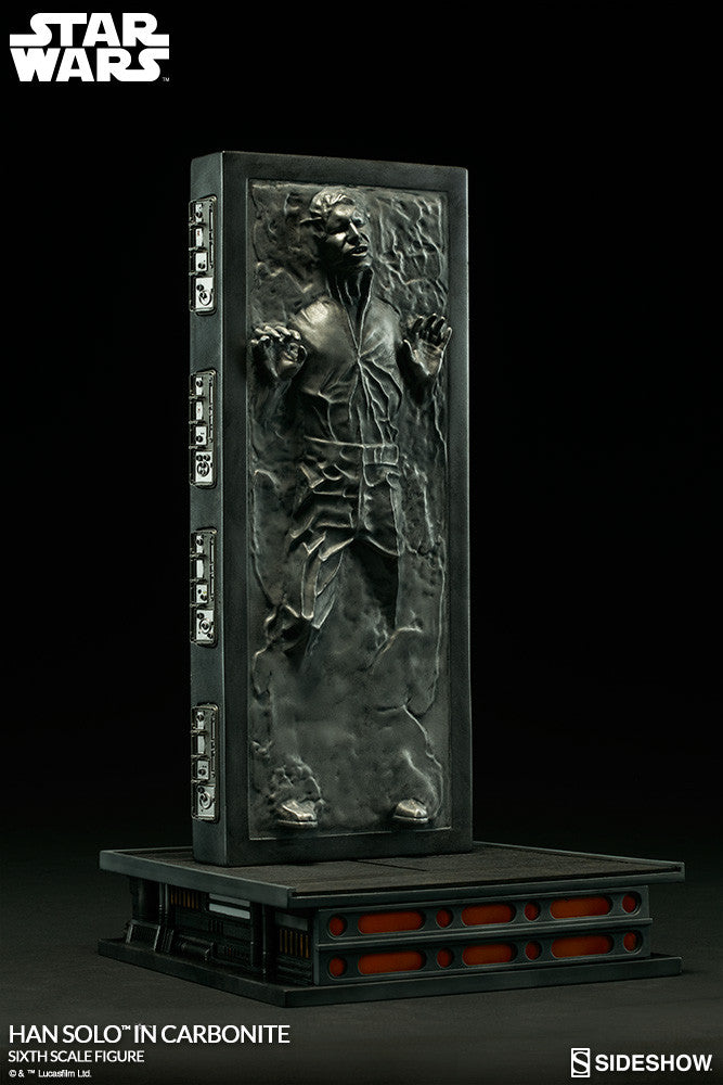 Hot Toys Star Wars Han Solo In Carbonite 1/6 Action Figure - Movie Figures - 2