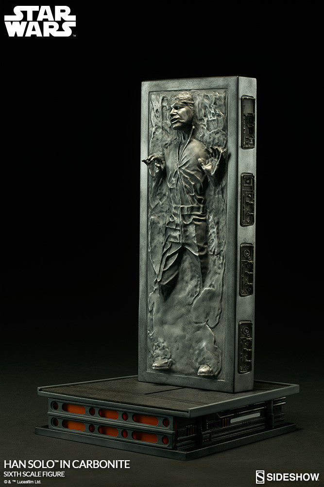 Hot Toys Star Wars Han Solo In Carbonite 1/6 Action Figure - Movie Figures - 3