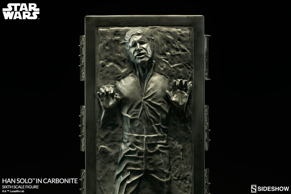 Hot Toys Star Wars Han Solo In Carbonite 1/6 Action Figure - Movie Figures - 4
