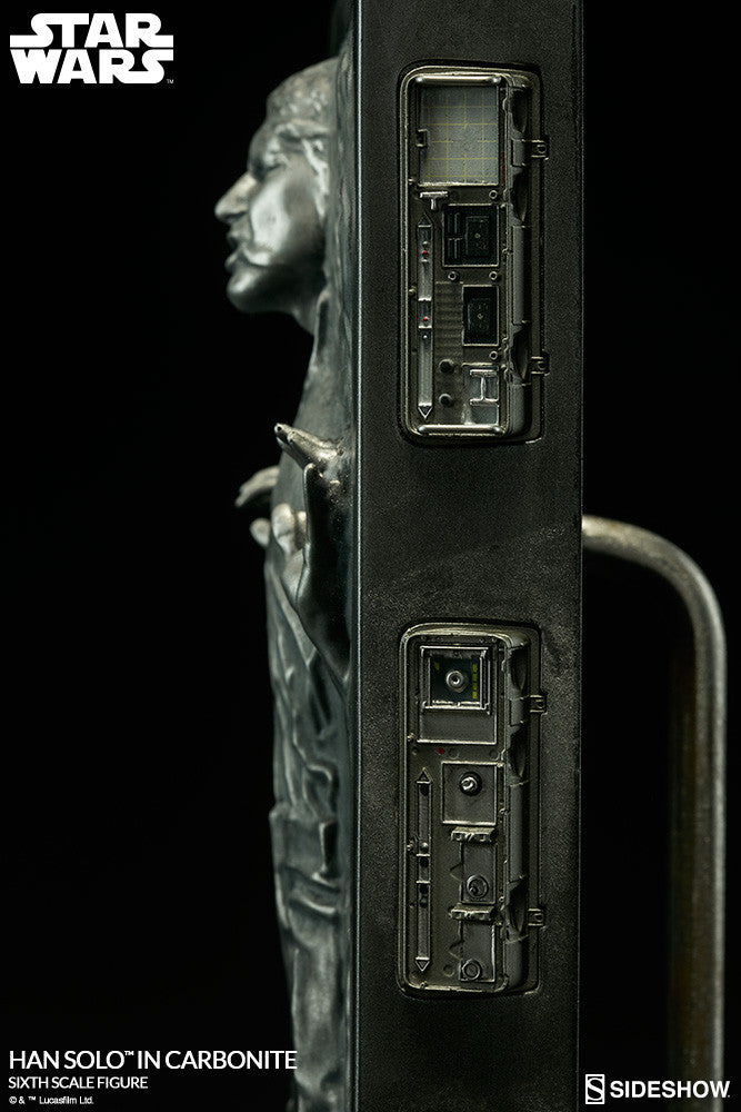 Hot Toys Star Wars Han Solo In Carbonite 1/6 Action Figure - Movie Figures - 5