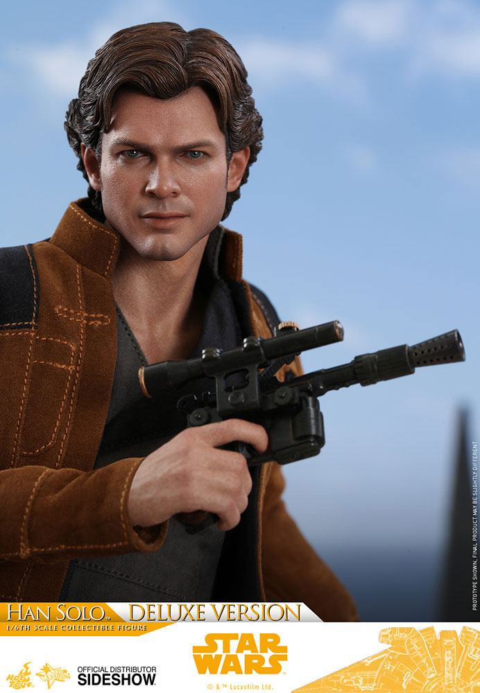 Hot Toys Star Wars Solo Movie Han Solo Deluxe Version 1/6 Action Figure