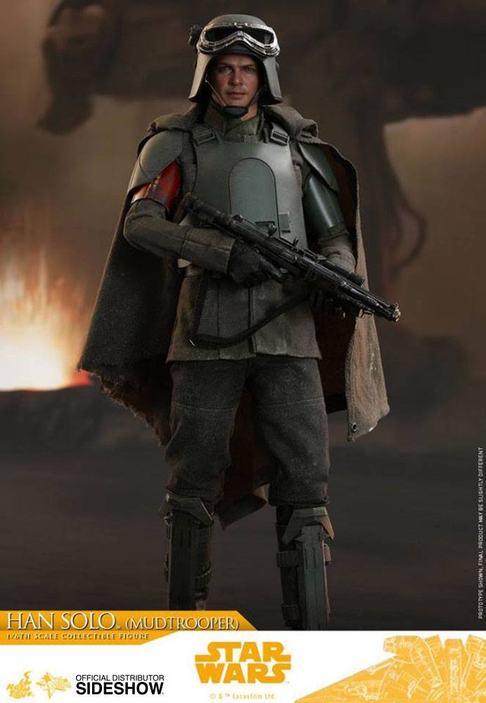 Hot Toys Star Wars Solo Movie Han Solo Mudtrooper 1/6 Action Figure