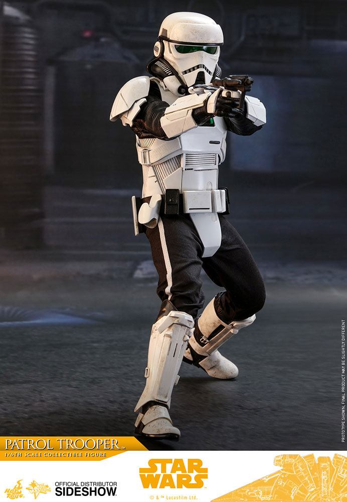 Hot Toys Star Wars Solo Movie Patrol Trooper 1/6 Action Figure