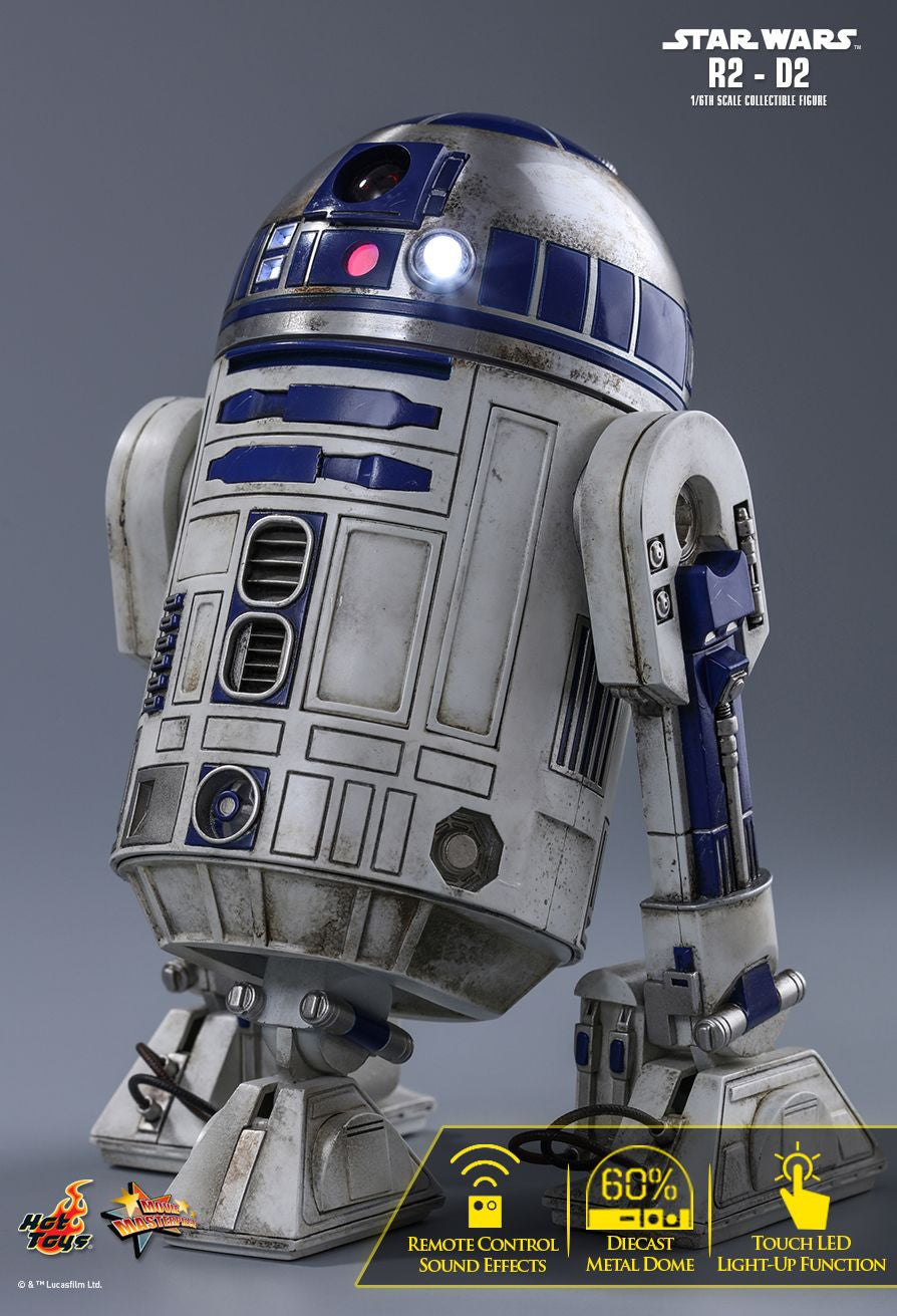 Hot Toys Star Wars: The Force Awakens R2-D2 1/6 Action Figure - Movie Figures - 2