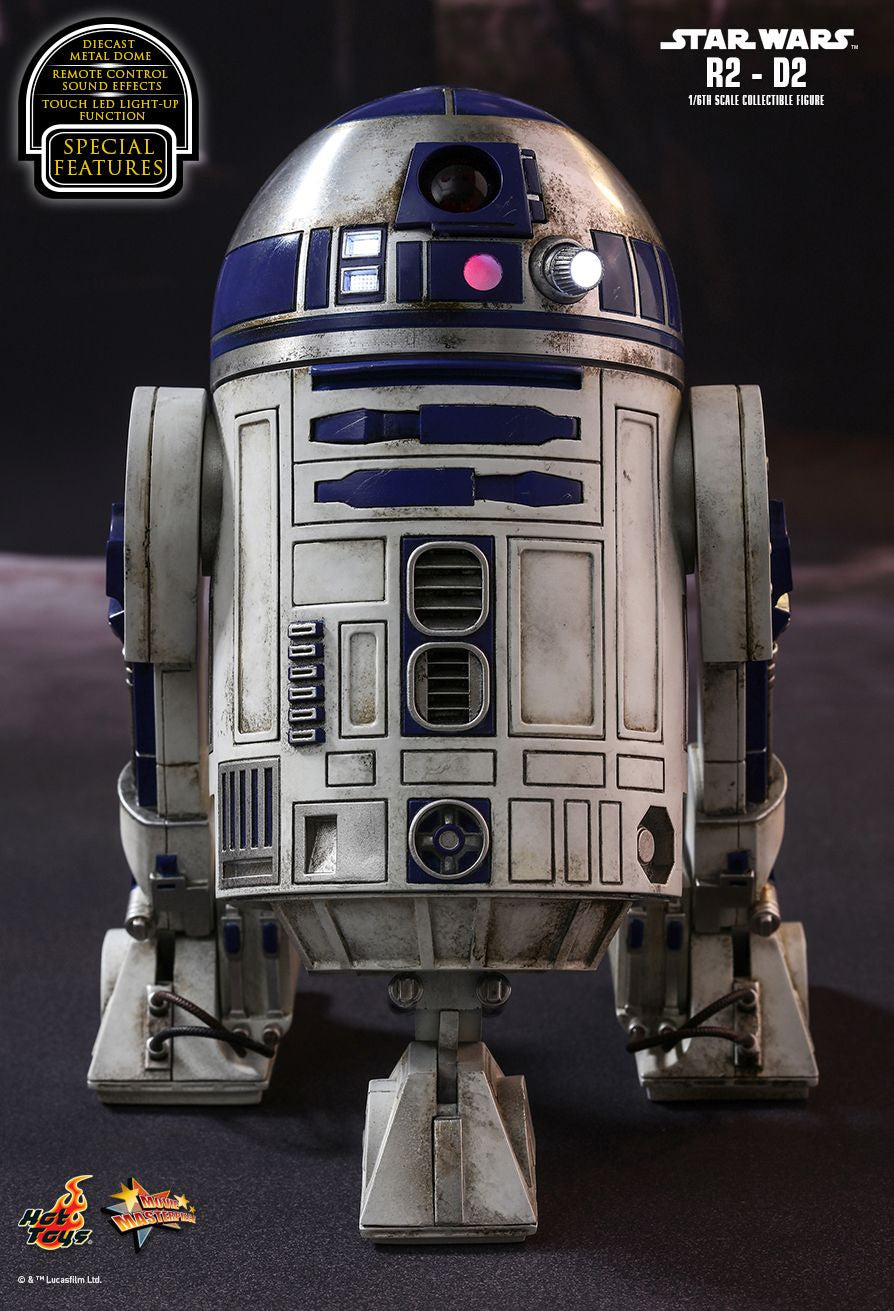 Hot Toys Star Wars: The Force Awakens R2-D2 1/6 Action Figure - Movie Figures - 12