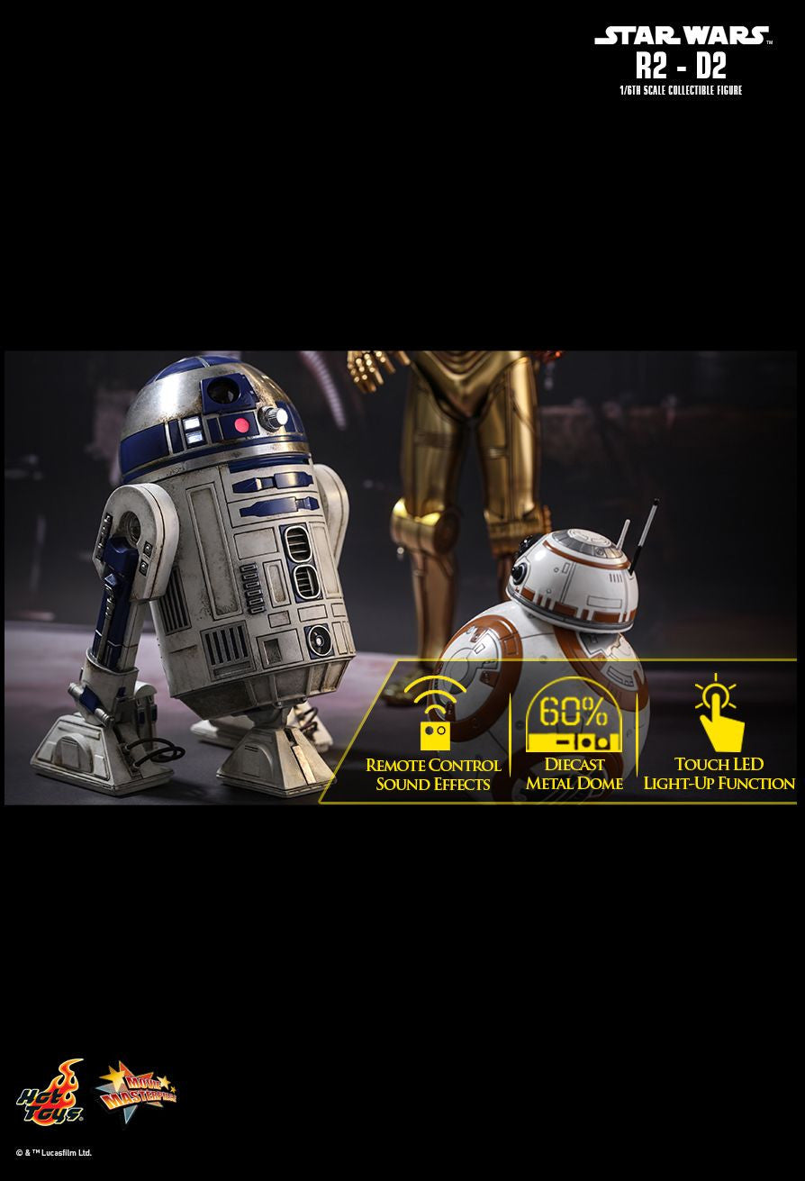 Hot Toys Star Wars: The Force Awakens R2-D2 1/6 Action Figure - Movie Figures - 13