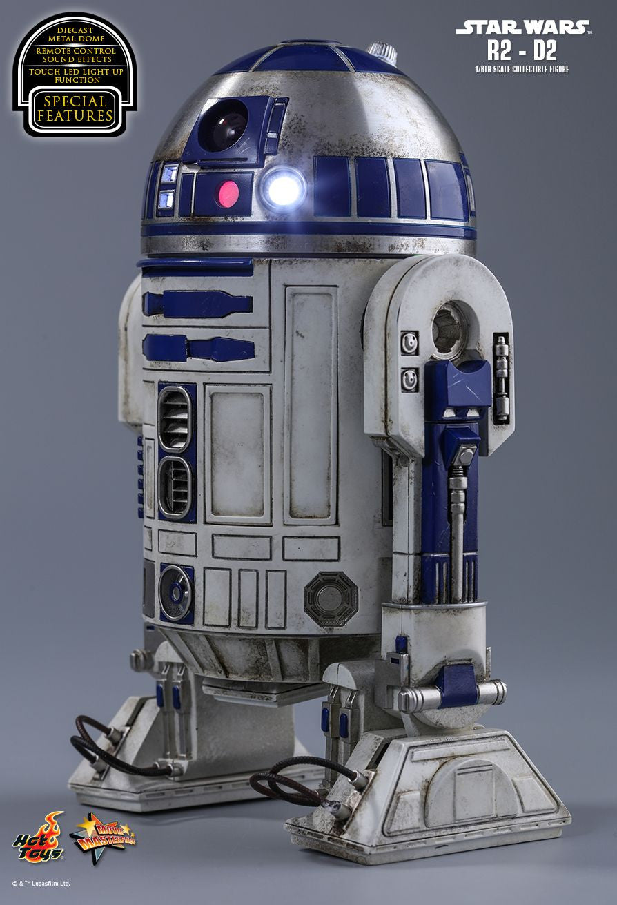 Hot Toys Star Wars: The Force Awakens R2-D2 1/6 Action Figure - Movie Figures - 3
