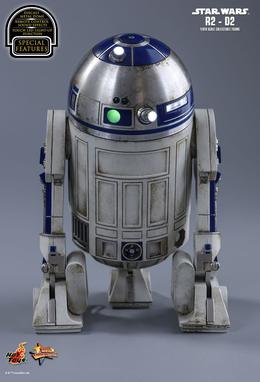 Hot Toys Star Wars: The Force Awakens R2-D2 1/6 Action Figure - Movie Figures - 4