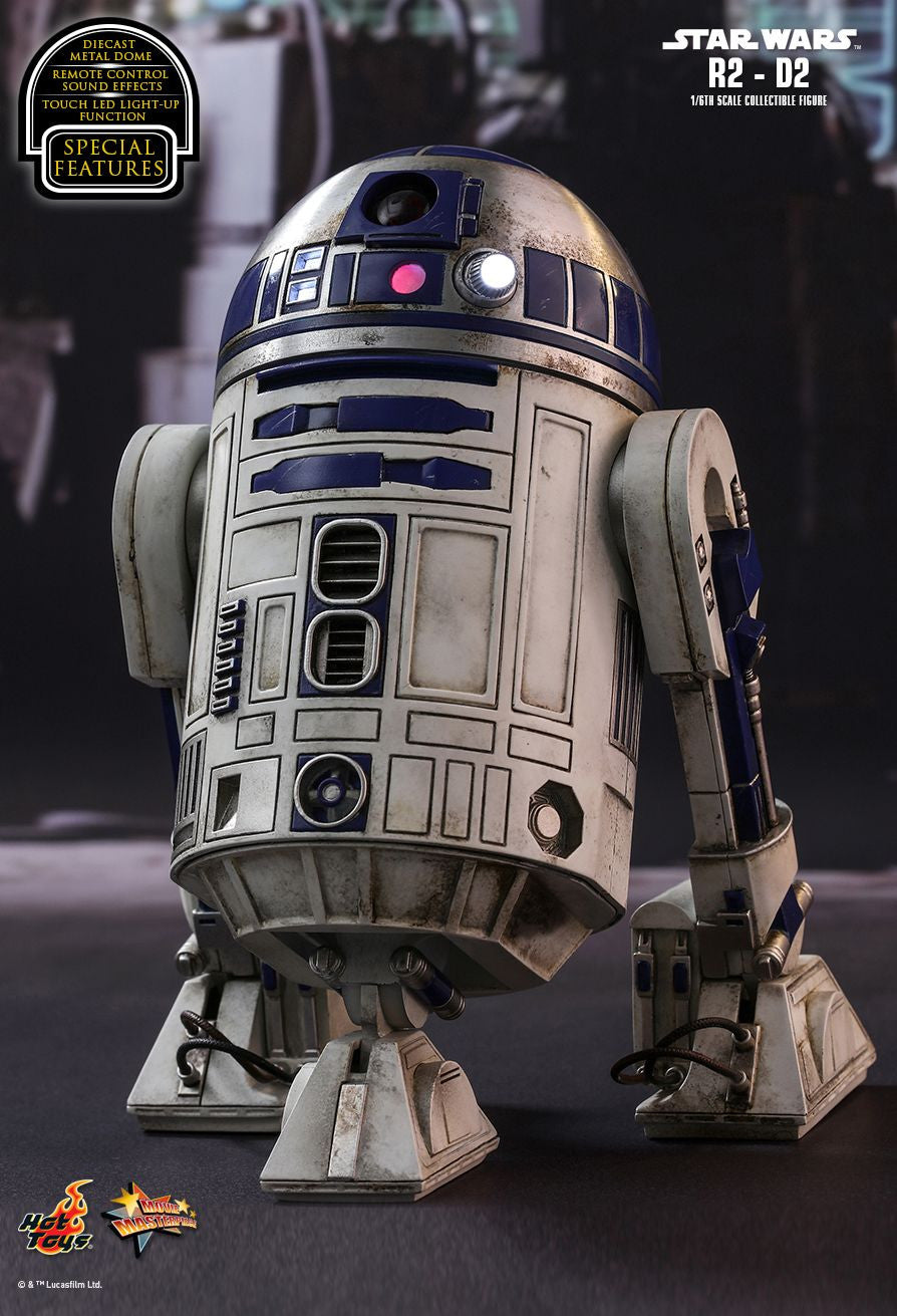 Hot Toys Star Wars: The Force Awakens R2-D2 1/6 Action Figure - Movie Figures - 5