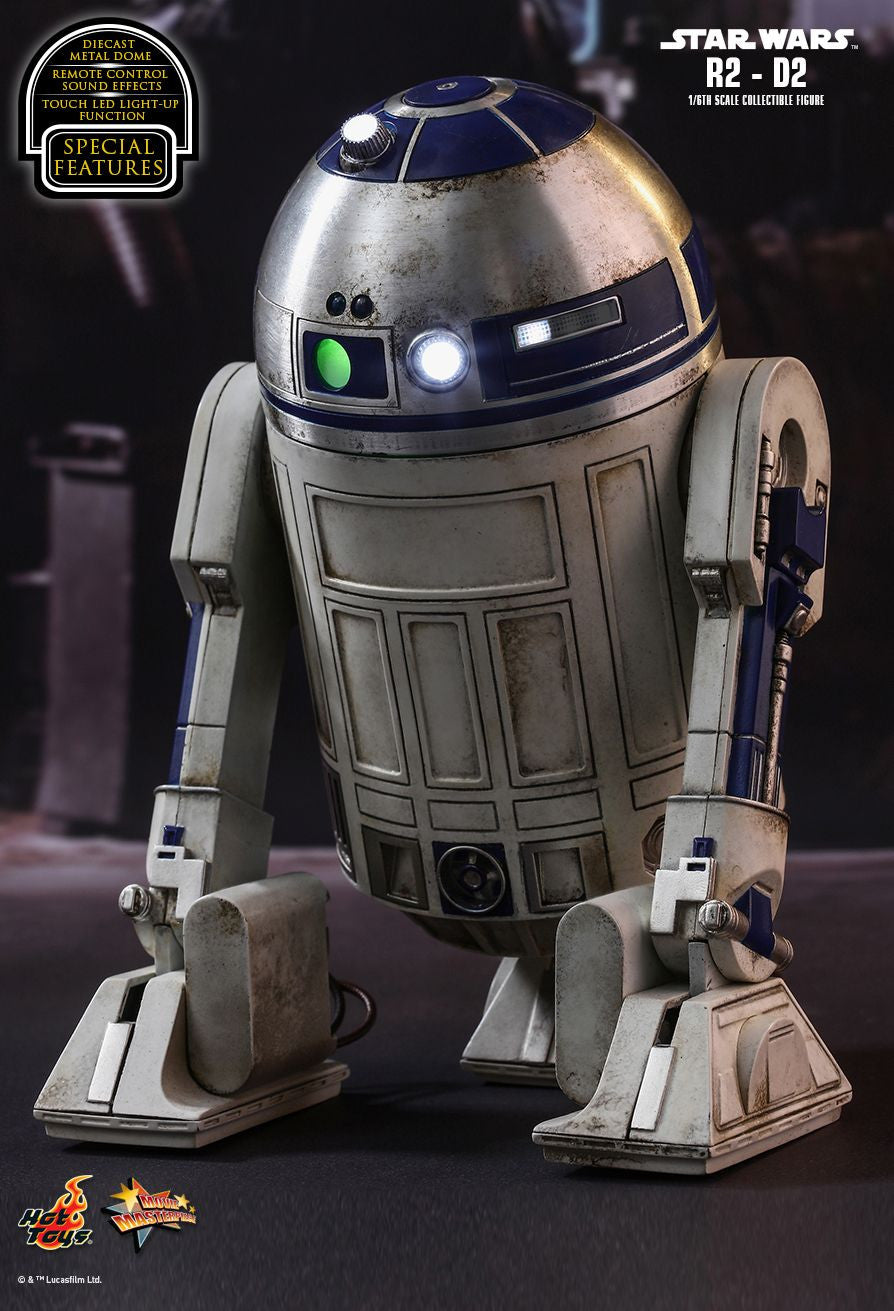 Hot Toys Star Wars: The Force Awakens R2-D2 1/6 Action Figure - Movie Figures - 6