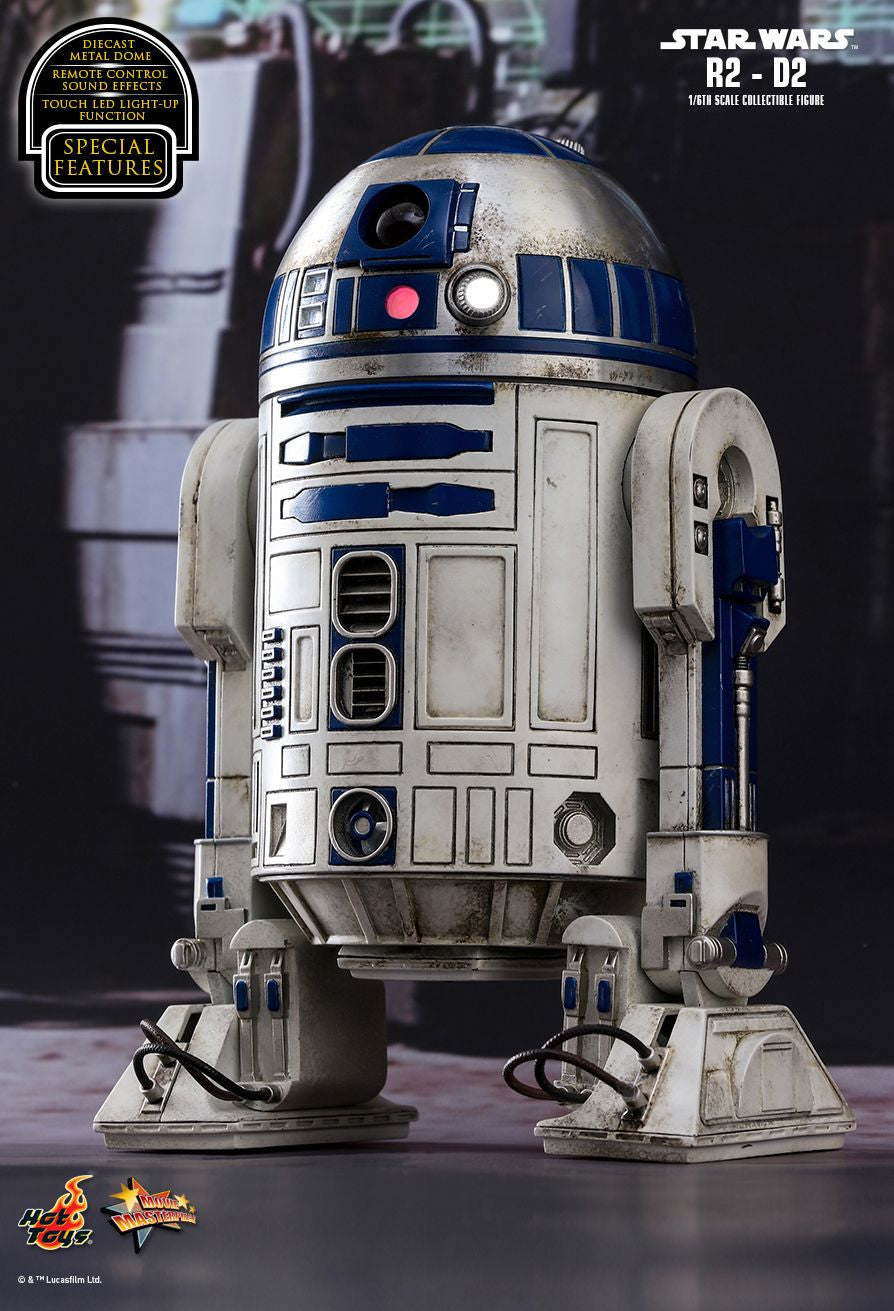 Hot Toys Star Wars: The Force Awakens R2-D2 1/6 Action Figure - Movie Figures - 7