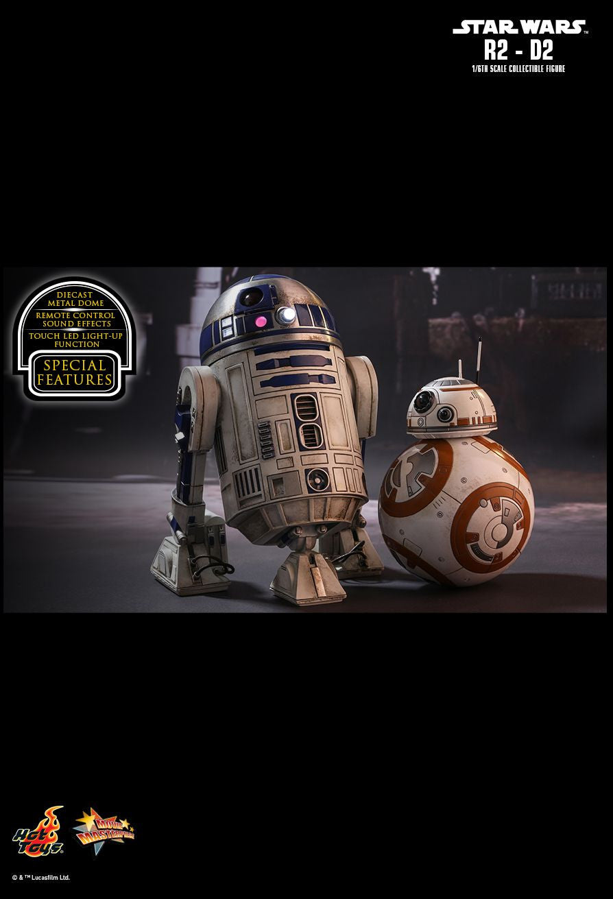 Hot Toys Star Wars: The Force Awakens R2-D2 1/6 Action Figure - Movie Figures - 8