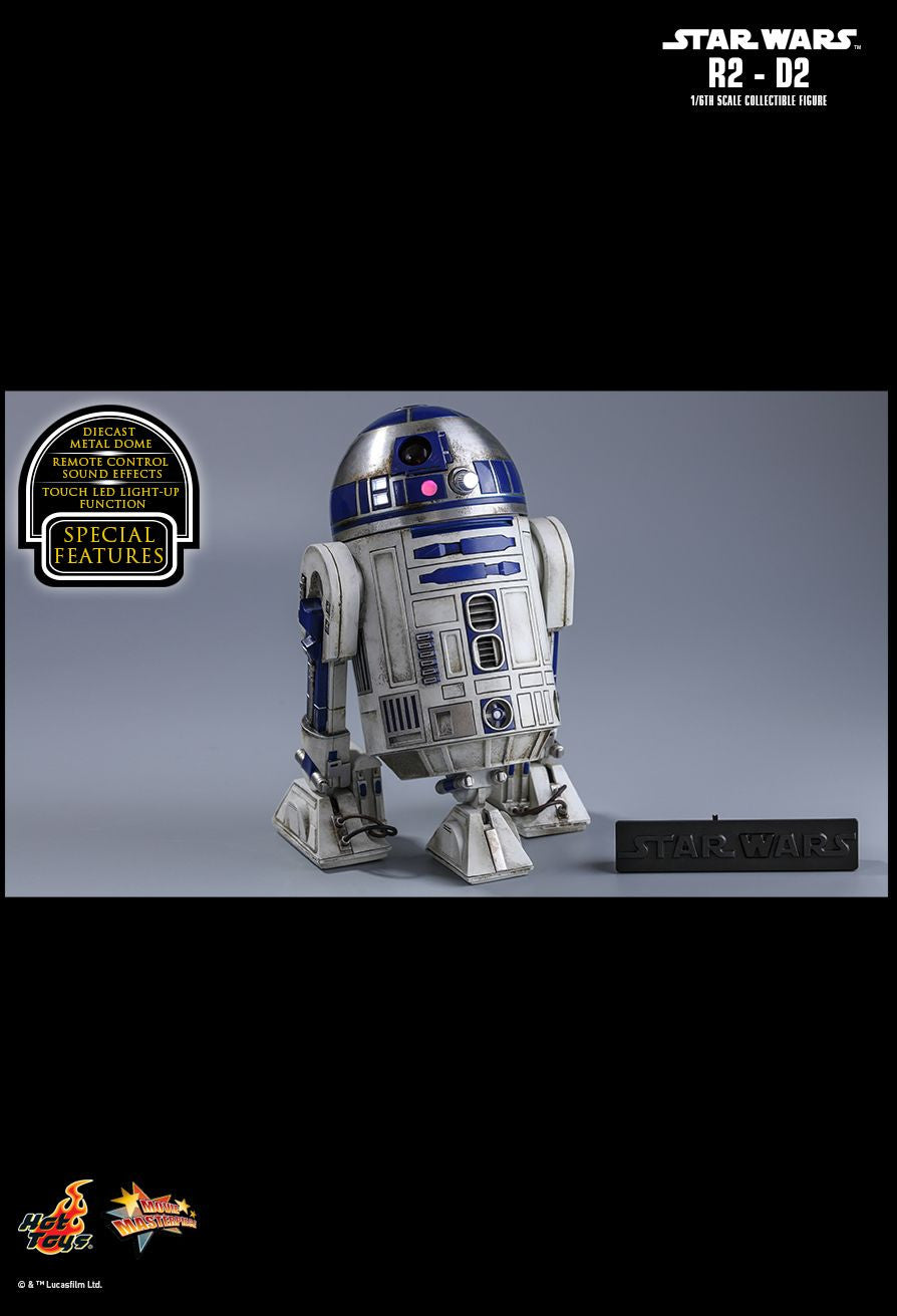 Hot Toys Star Wars: The Force Awakens R2-D2 1/6 Action Figure - Movie Figures - 10