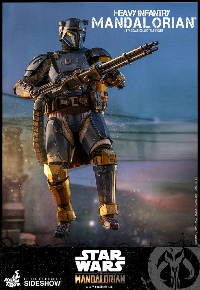 Hot Toys Star Wars The Mandalorian Heavy Infantry Mandalorian 1/6 Action Figure