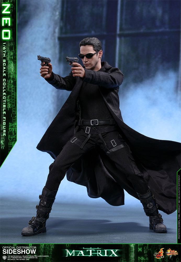 Hot Toys The Matrix Neo 1/6 Action Figure