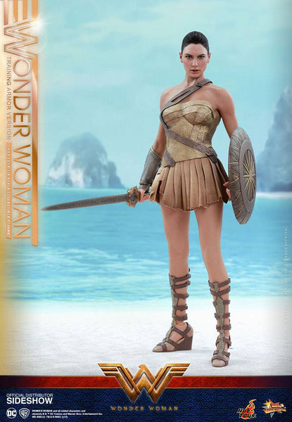 Hot Toys Wonder Woman Movie Wonder Woman Training Armor 1/6 Action Figure