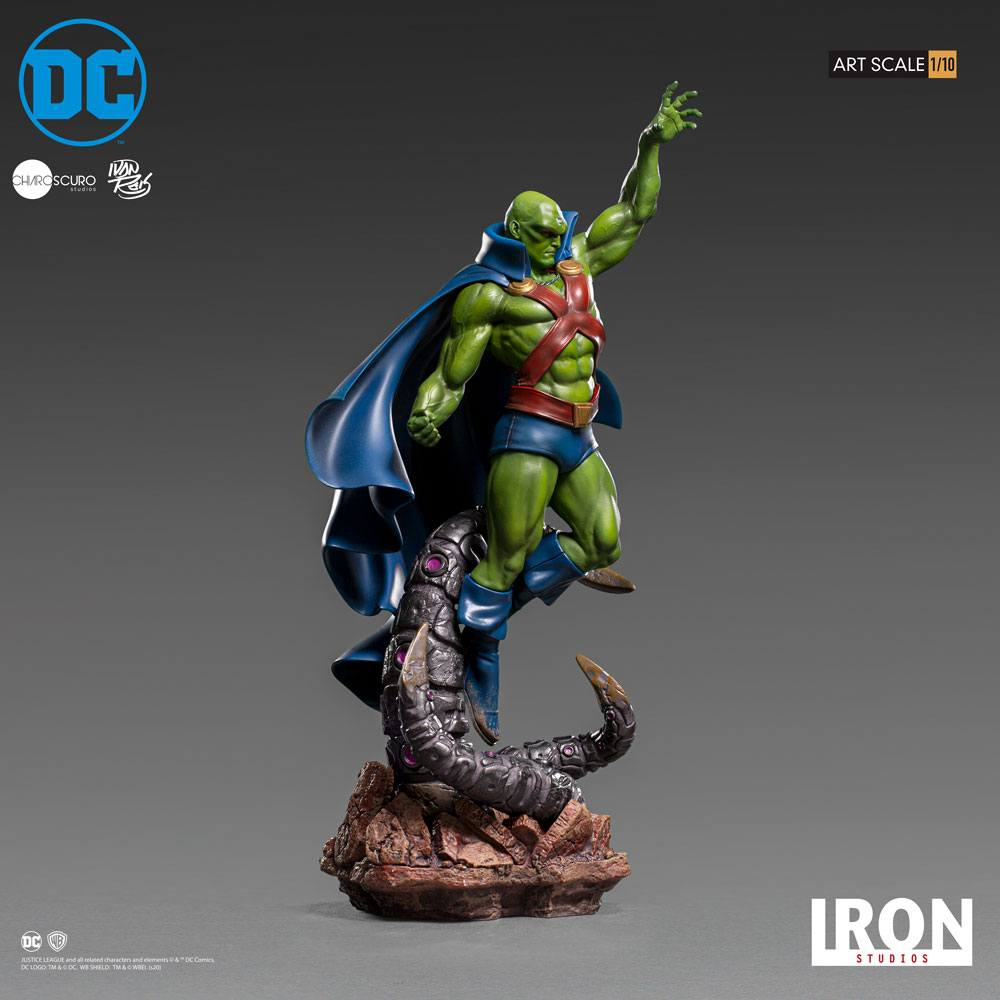 Iron Studios DC Comics Martian Manhunter by Ivan Reis 1/10 Statue