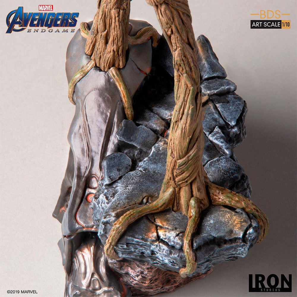 Iron Studios Avengers: Endgame Groot Battle Diorama Series 1/10 Statue