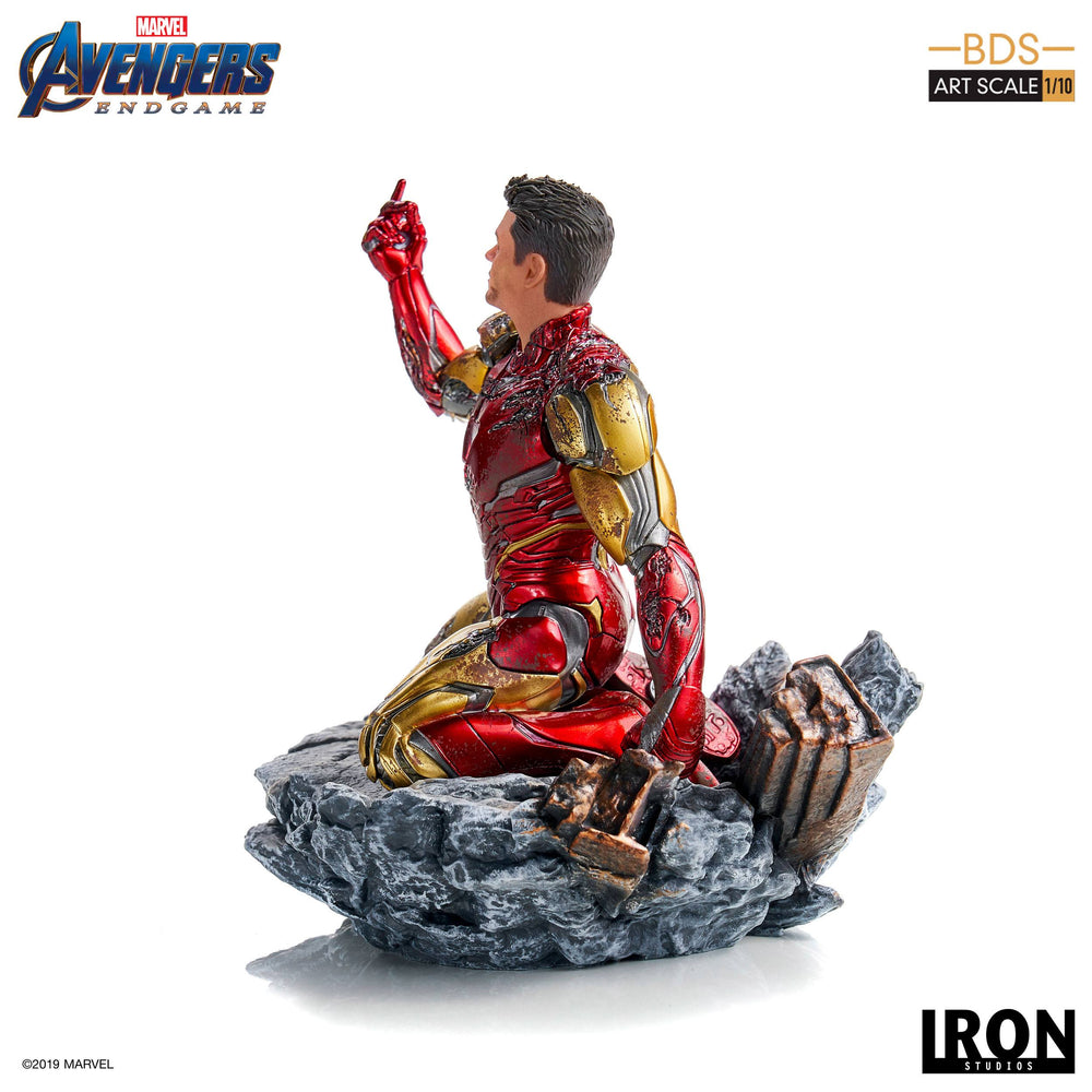 Iron Studios Avengers: Endgame I am Iron Man Battle Diorama Series Art Scale 1/10 Statue