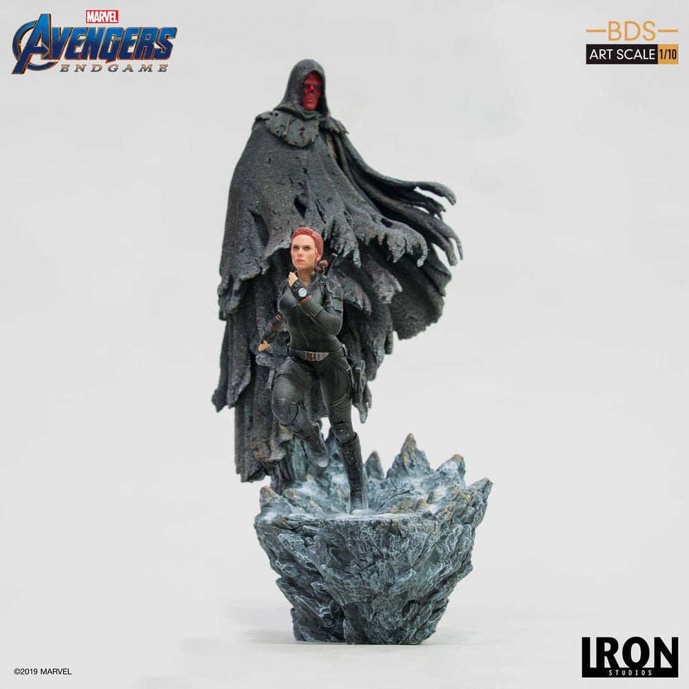 Iron Studios Avengers: Endgame Red Skull Battle Diorama Series 1/10 Statue
