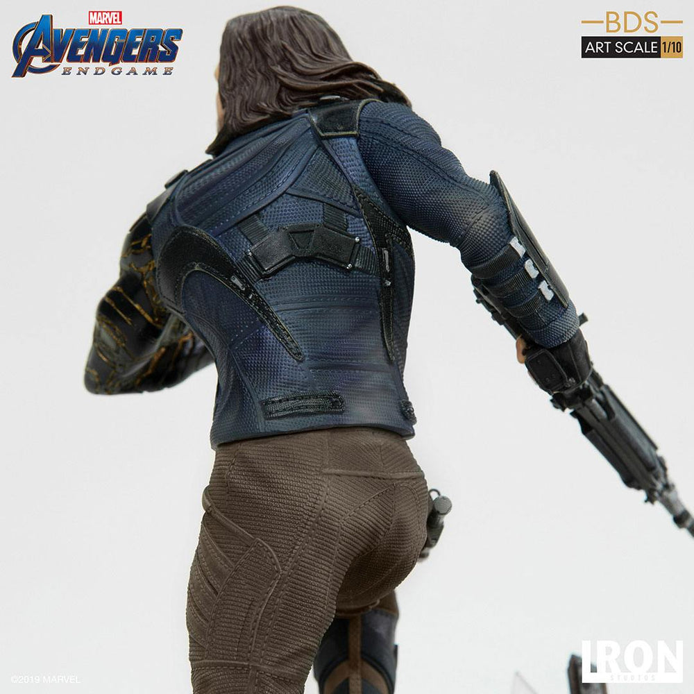 Iron Studios Avengers: Endgame Winter Soldier Battle Diorama Series 1/10 Statue