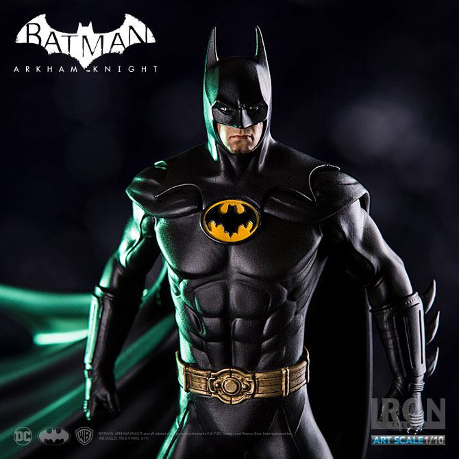 Iron Studios Batman Arkham Knight Batman DLC Series 89 1/10 Statue