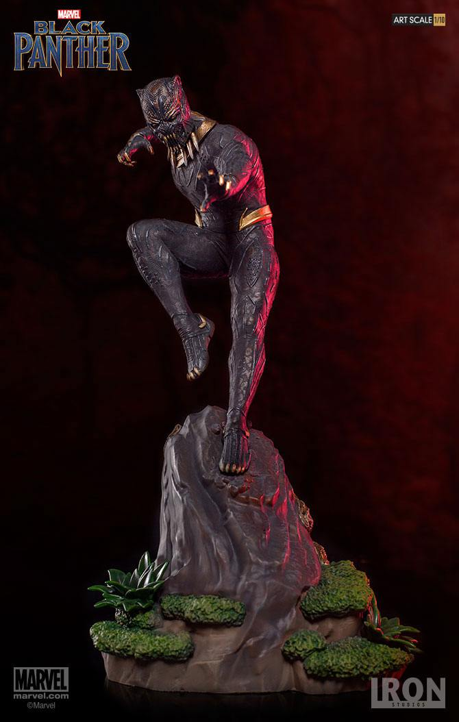 Iron Studios Black Panther Killmonger Battle Diorama Series 1/10 Statue