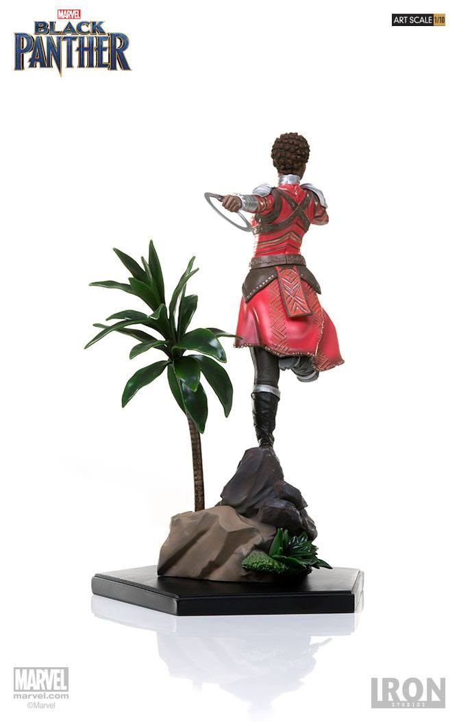Iron Studios Black Panther Nakia Battle Diorama Series 1/10 Statue