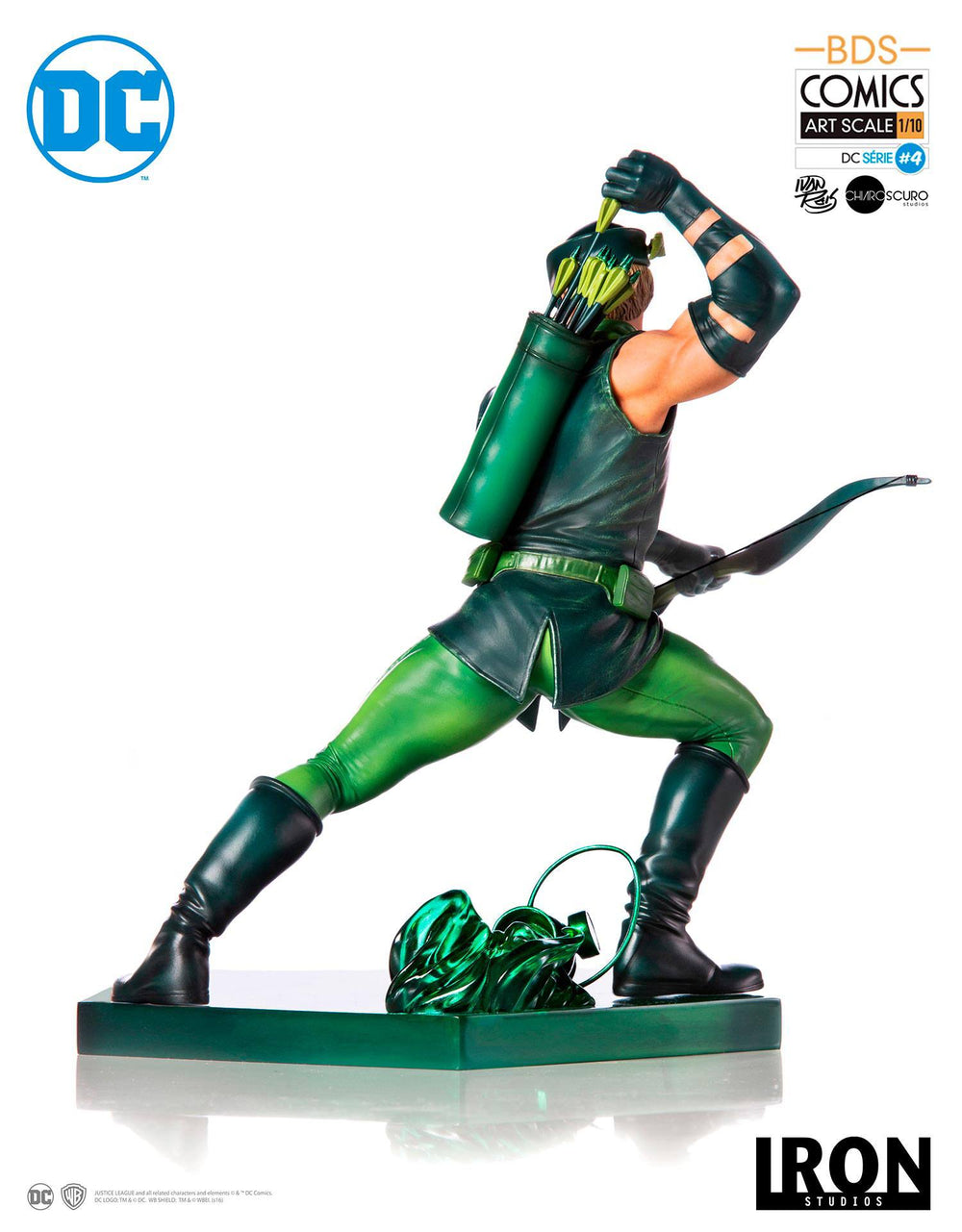 Iron Studios DC Comics Battle Diorama Series Green Arrow by Ivan Reis 1/10 Statue