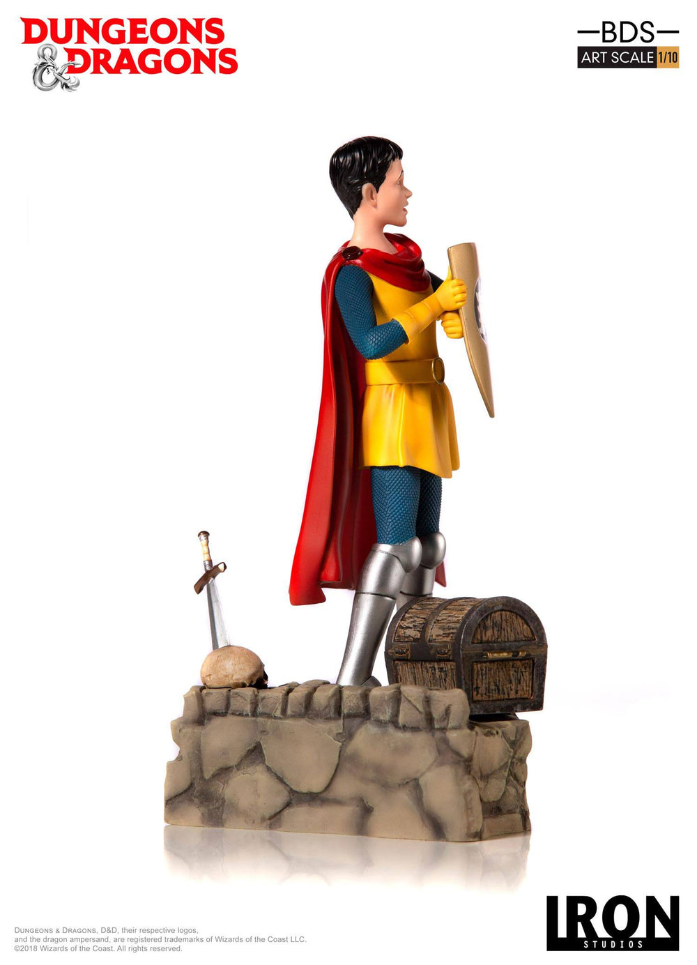 Iron Studios Dungeons & Dragons Eric the Cavalier Battle Diorama Series 1/10 Statue