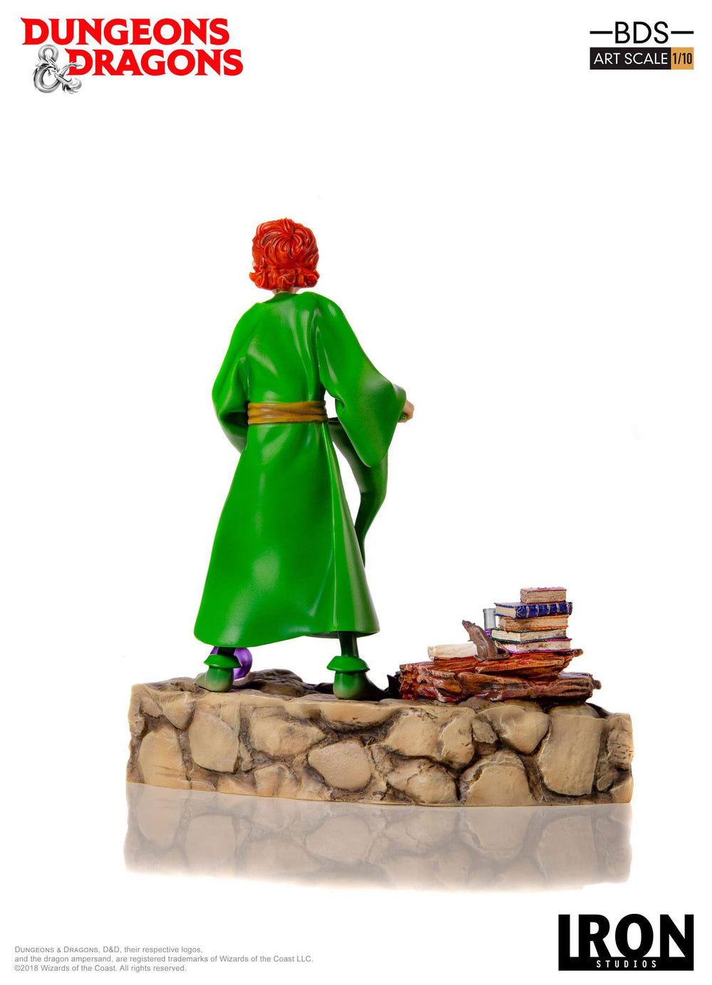 Iron Studios Dungeons & Dragons Presto the Magician Battle Diorama Series 1/10 Statue
