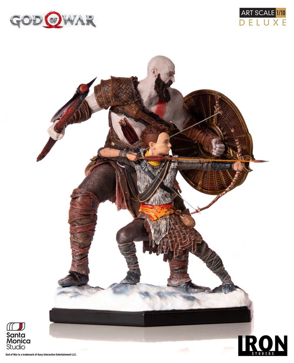 Iron Studios God of War Kratos & Atreus Deluxe 1/10 Statue