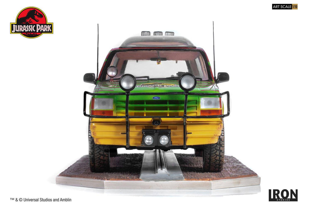 Iron Studios Jurassic Park Jungle Explorer 04 Art Scale 1/10 Statue