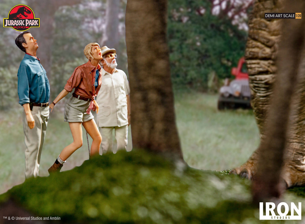 Iron Studios Jurassic Park Welcome to Jurassic Park Demi Art Scale 1/20 Statue