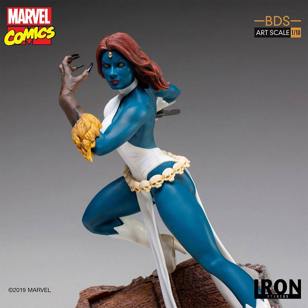 Iron Studios Marvel Comics Battle Diorama Series Mystique 1/10 Statue