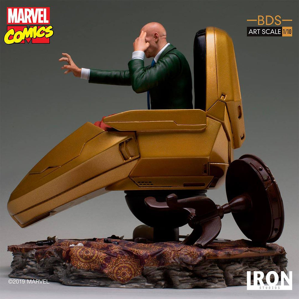 Iron Studios Marvel Comics Battle Diorama Series Professor X 1/10 Statue