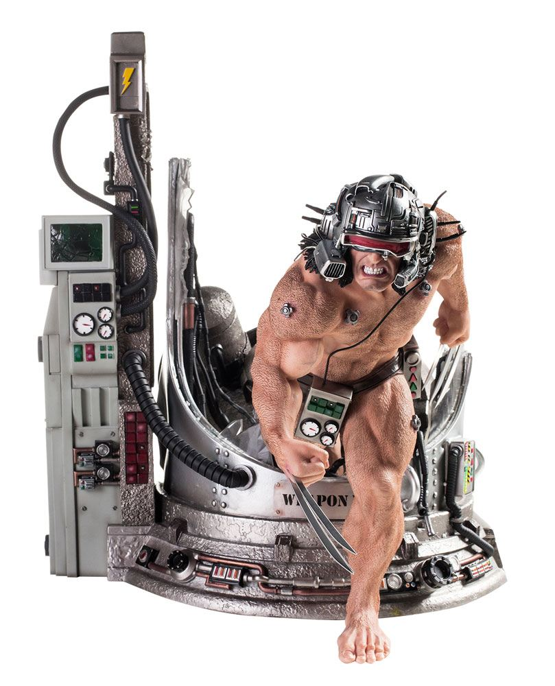 Iron Studios Marvel Comics Weapon X Legacy Replica Statue 1/4 Statue