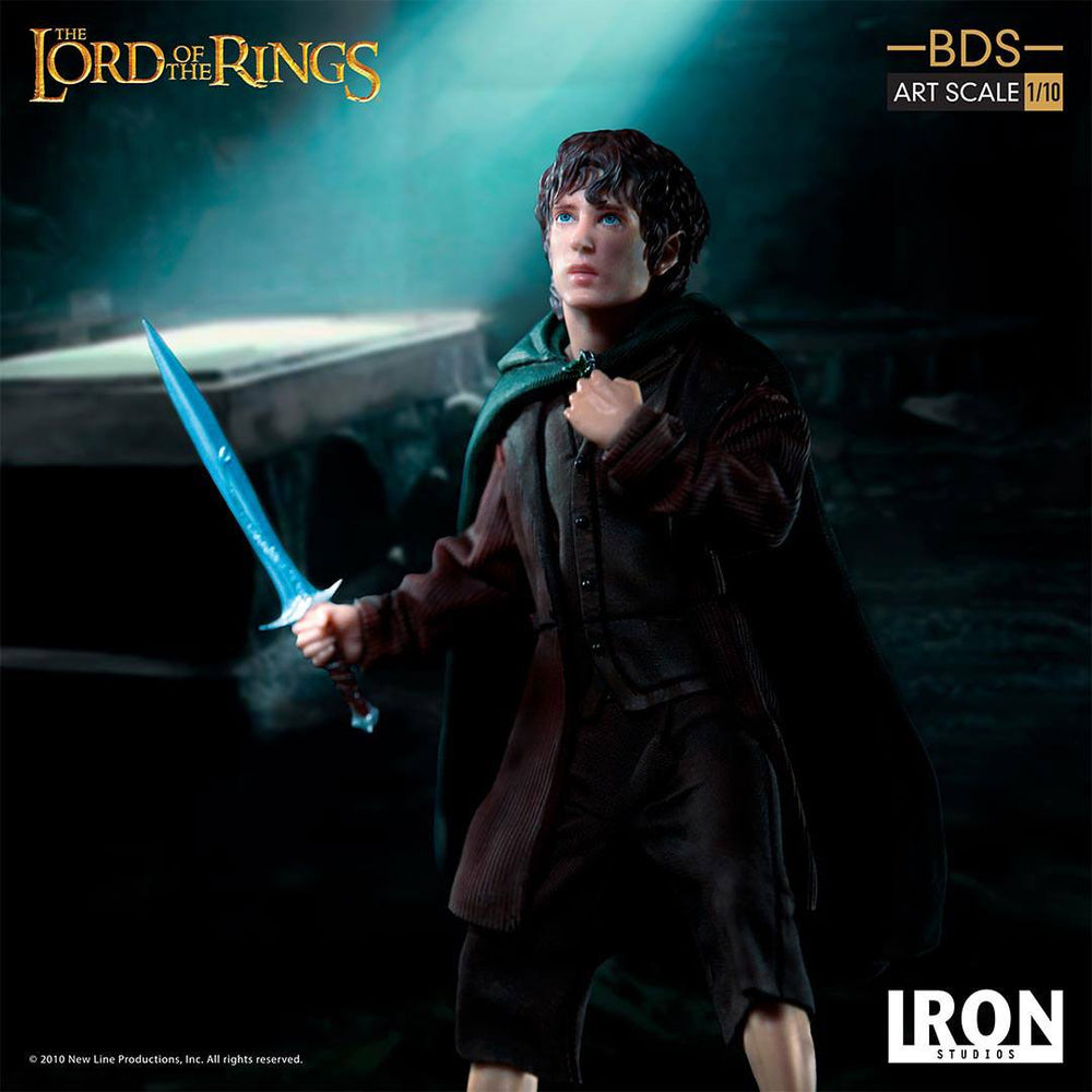 Iron Studios The Lord of the Rings Battle Diorama Series Frodo Art Scale 1/10 Statue