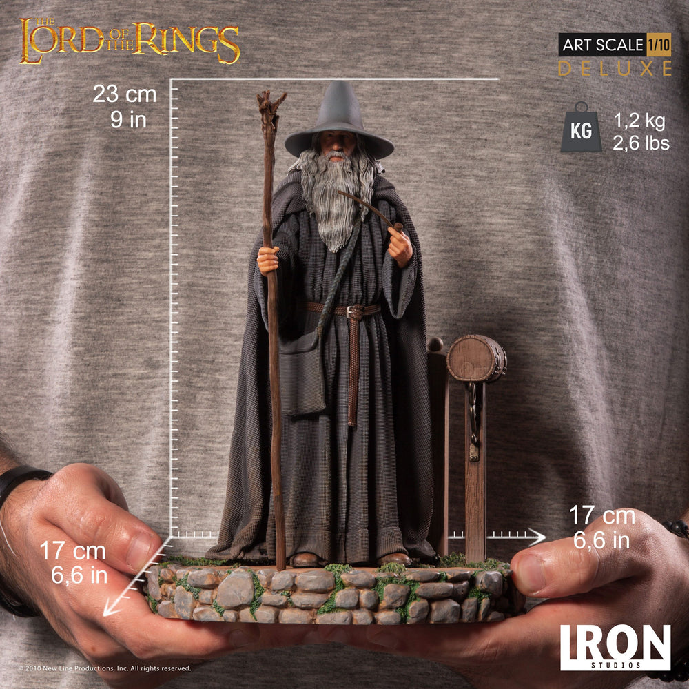 Iron Studios The Lord of the Rings Gandalf Deluxe Art Scale 1/10 Statue