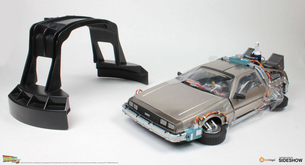 Kids Logic Back to the Future II DeLorean Time Machine Floating Model