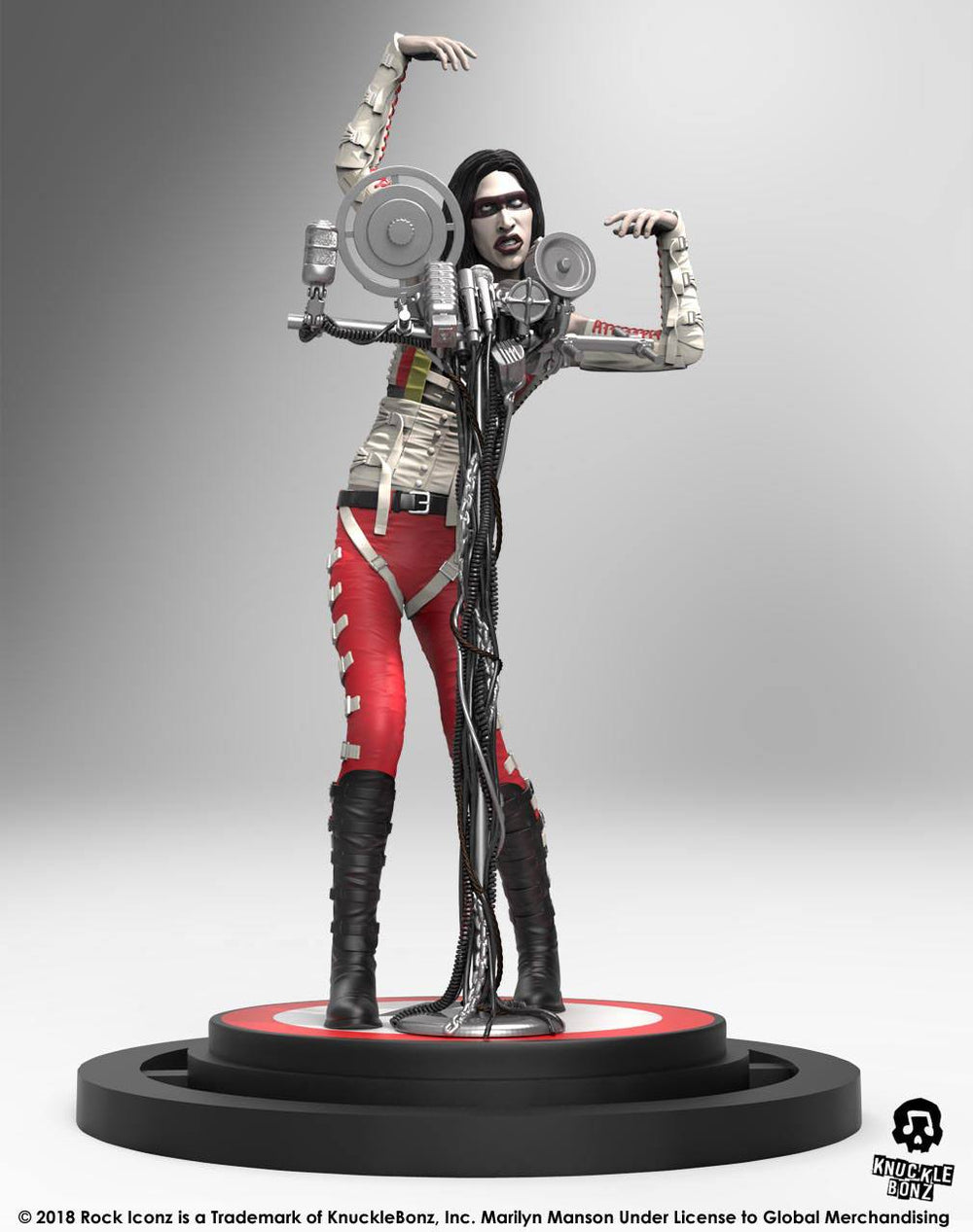 Knucklebonz Marilyn Manson Rock Iconz Statue