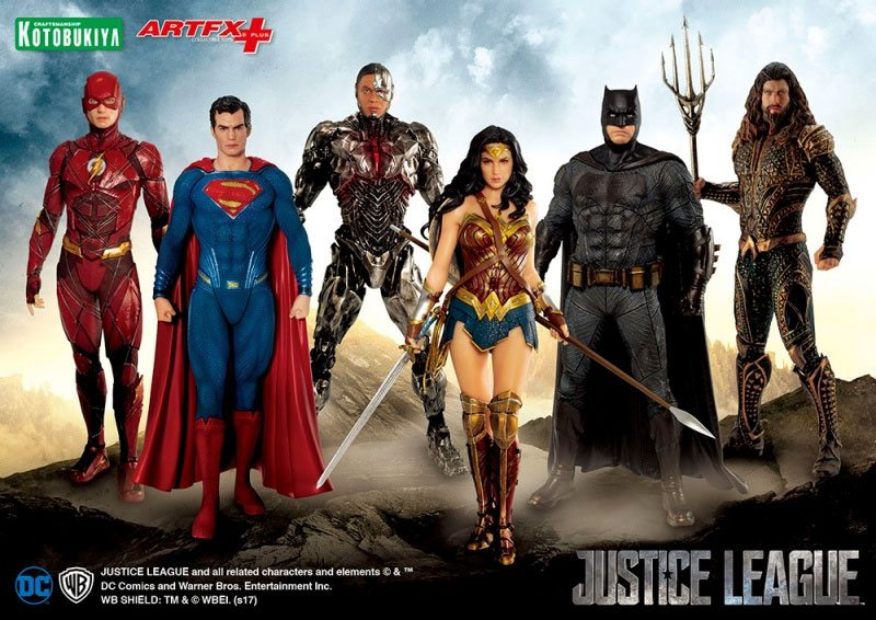 Kotobukiya Justice League Batman ArtFX+ 1/10 Statue