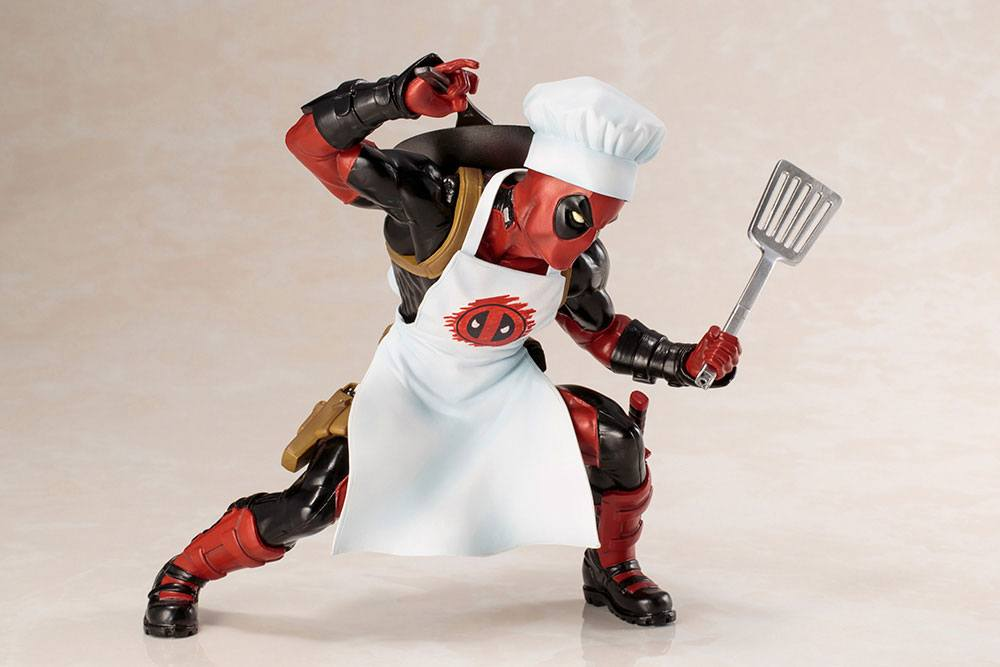 Kotobukiya Marvel Comics Cooking Deadpool ARTFX+ 1/10 Statue