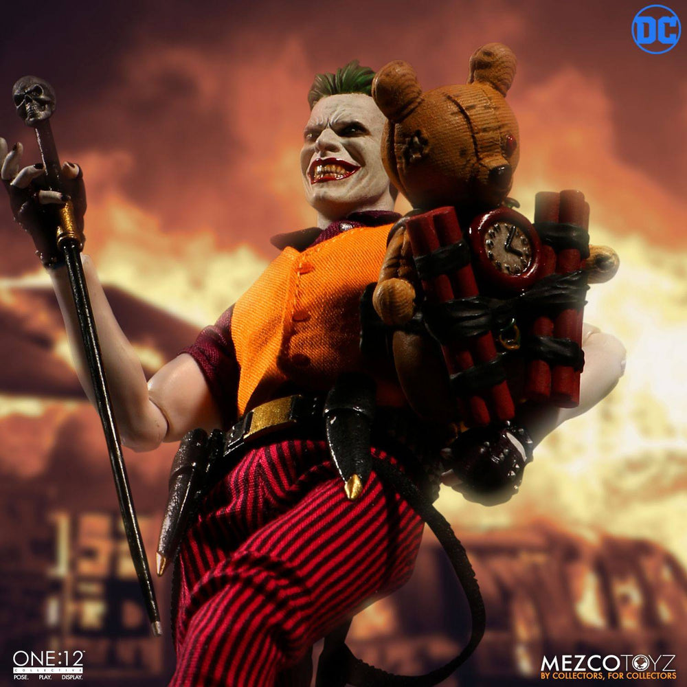 Mezco Toyz DC Comics The Joker Clown Prince of Crime Edition 1/12 Action Figure